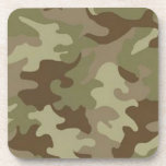 """Camouflage Coasters<br><div class=""""desc"""">Coasters are as beautiful as they are functional. Each coaster protects furniture and table tops from the damage caused by condensation dripping off a beverage glass. They can withstand your favorite beverages summer &quot;sweat&quot; and your morning coffee heat. They are great party coasters and can be used for drinks, coffee...</div>"""