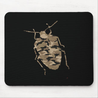Camouflage Cockroach Silhouette Mouse Pad