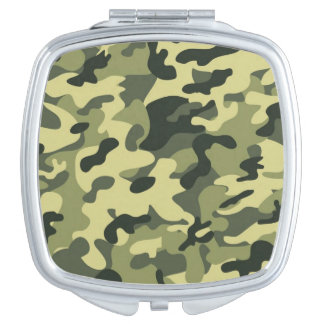 camouflage compact mirror