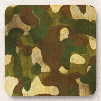 Camouflage Beverage Coasters