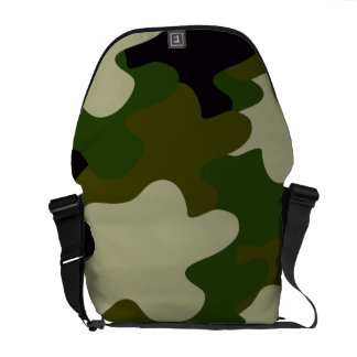 Camouflage Courier Bag