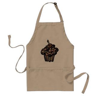 camouflage cupcake apron