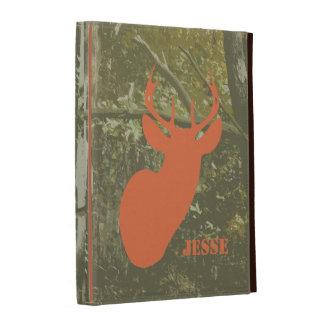 Camouflage & Deer Head iPad Folio iPad Folio Case