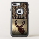 "Camouflage Deer Hunting Name Case<br><div class=""desc"">A camouflage deer hunting name case that can be personalized with the name of your favorite outdoorsman.</div>"