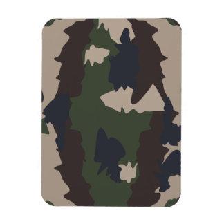 Camouflage design flexible magnet