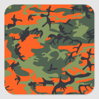 Camouflage design stickers