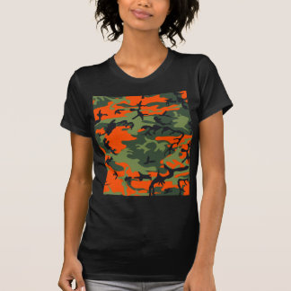 Camouflage design tee shirts