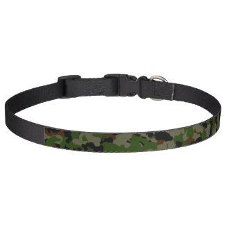Camouflage Dog Collar - Large