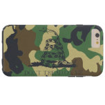 Camouflage Don't Tread On Me Gadsen Flag Tough iPhone 6 Plus Case
