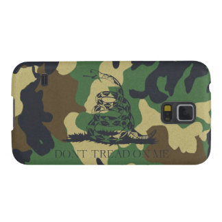 Camouflage Don't Tread On Me Gadsen Flag Galaxy S5 Case