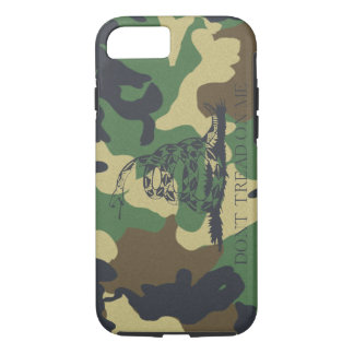Camouflage Don't Tread On Me Gadsen Flag iPhone 8/7 Case