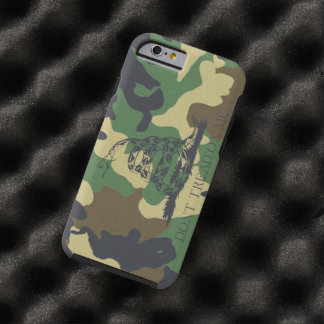 Camouflage Don't Tread On Me Gadsen Flag Tough iPhone 6 Case