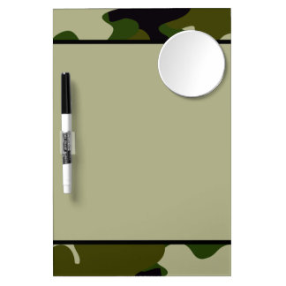 Camouflage Dry-Erase Board