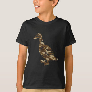 Camouflage Duck Silhouette T-Shirt