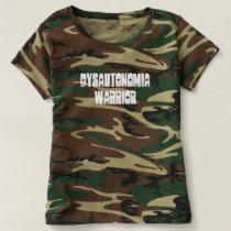 Camouflage Dysautonomia Warrior T-shirt