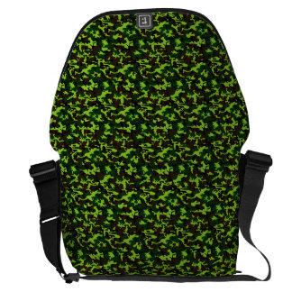 Camouflage Elite (army jungle green) ~ Courier Bag