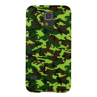 Camouflage Elite (army jungle green) ~ Galaxy S5 Case