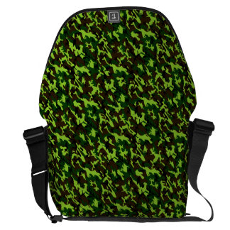 Camouflage Elite (army jungle green) ~ Messenger Bag