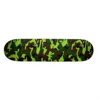 Camouflage Elite (army jungle green) ~ Skateboard Deck