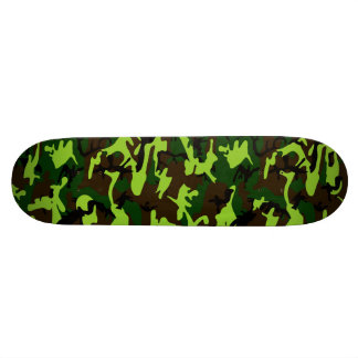 Camouflage Elite (army jungle green) ~ Skateboard Deck