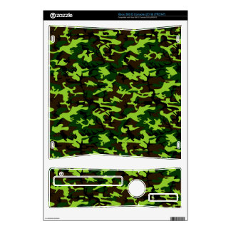 Camouflage Elite (army jungle green) ~ Xbox 360 S Decals