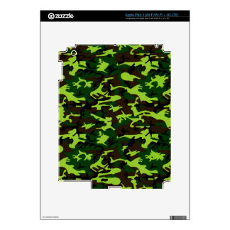 Camouflage Elite (jungle green) ~ iPad 3 Decals