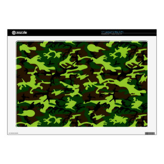 Camouflage Elite (jungle green) ~ Skin For Laptop