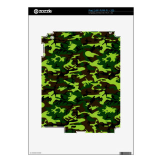 Camouflage Elite (jungle green) ~ Skins For iPad 2
