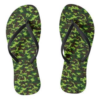 Camouflage Elite (jungle green) xl v2 ~.jpg Flip Flops