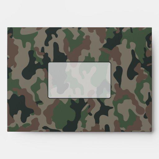 Camouflage Envelope
