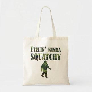 Camouflage Feelin' Kinda Squatchy Tote Bags