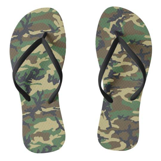 9e60bf61fe6d Camouflage Flip Flops for Women