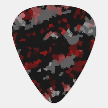 Camouflage For The Soul Guitar Pick by Mindgoop at Zazzle