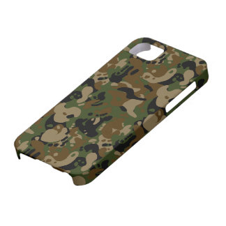 camouflage forest design iPhone SE/5/5s case