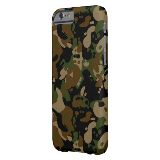 camouflage forest design pixel art barely there iPhone 6 case