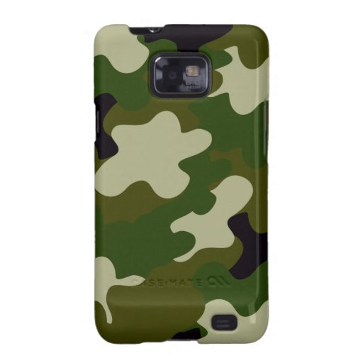 Camouflage Galaxy S2 Covers