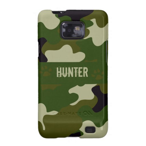 Camouflage Galaxy SII Covers