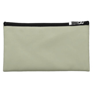 Camouflage Green Trend Color Customized Template Cosmetic Bag