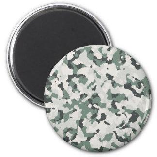 Camouflage Grey Tan Green Black Multi Terrain Magnet