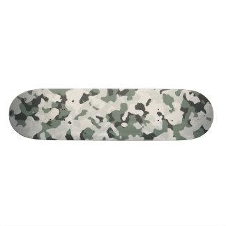 Camouflage Grey Tan Green Black Multi Terrain Skateboard