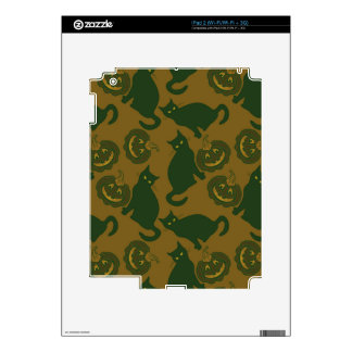 Camouflage Halloween Decal For The iPad 2