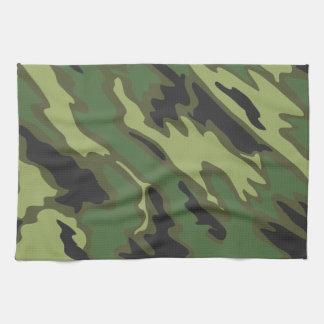 Camouflage Hand Towel