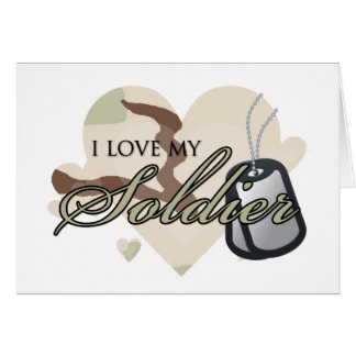 Camouflage Heart Greeting Card