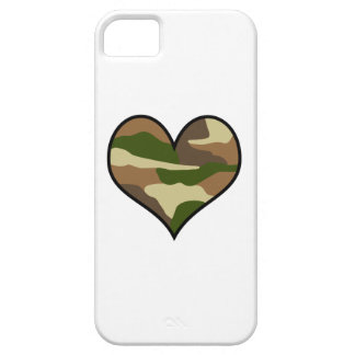 CAMOUFLAGE HEART iPhone 5 COVERS