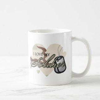 Camouflage Heart Classic White Coffee Mug