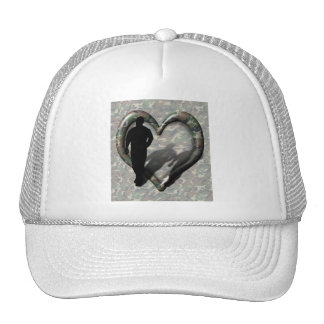 Camouflage Heart - Man Missing Man Hat