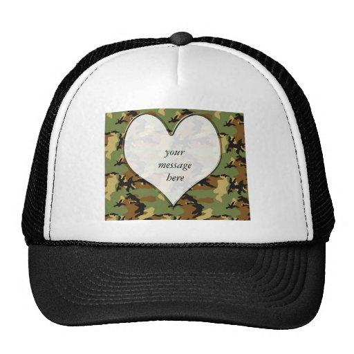 ♥ Camouflage Heart ♥ Trucker Hats