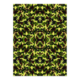 Camouflage in the Third! (jungle green) ~ Card