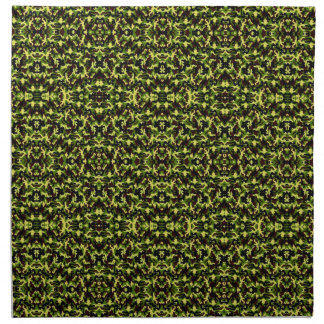 Camouflage in the Third! (jungle green) ~ Cloth Napkin