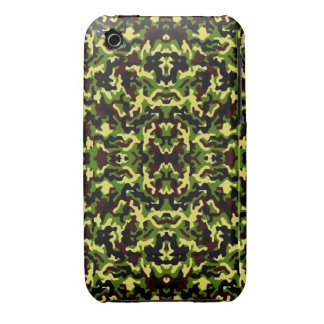 Camouflage in the Third! (jungle green) ~ iPhone 3 Case